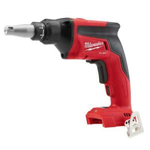 Milwaukee M18 Fuel Drywall Screw Gun tool Only 2866 20