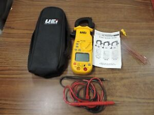 Uei Test Instruments Dl379b Clamp on Multi meter With Case
