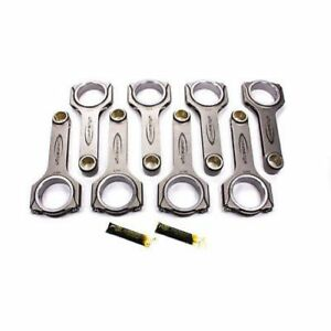 Callies Csb6385es3b9ah Bbc Forged H Beam Connecting Rod 6 385 Length Set Of 8