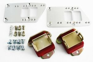 Chevy Ls Billet Engine Conversion Polyurethane Motor Mounts Swap Kit Ls1 Ls6