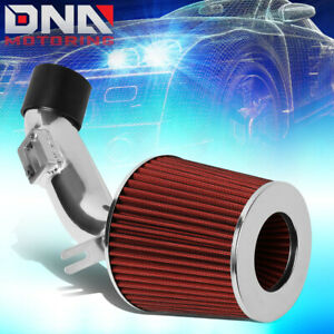 For 2006 2011 Honda Civic Dx Lx High Flow Short Ram Air Intake System Red Filter