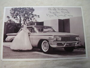 1960 Oldsmobile An Miss America 11 X 17 Photo Picture