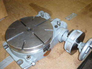Moore Special Precise Grade Rotary Table 1 Arc second Resolution Lrt 1034