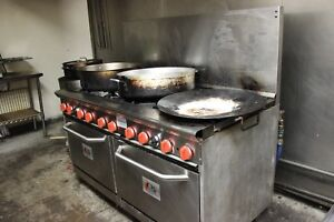 10 Burner Gas Stove With 2 Ovens
