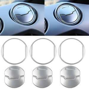 Interior Dashboard Console Central Air Outlet Vent Cover Trim For Ford Mustang Y