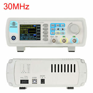 Us Ship 30mhz Dual channel Dds Arbitrary Waveform Function Signal Generator Kit
