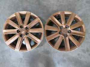 07 09 Mazdaspeed Mazda 3 Speed Oem Wheels 18x7 Bronze Wheel Rim Rims X2 Pair T4