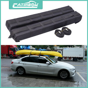 Universal Car Roof Top Cargo Storage Rack Luggage Carrier Soft Easy Rack Van Suv