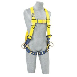 3m Dbi Sala Delta vest style Positioning Harness 1102008 Yellow One Size 420 Lb