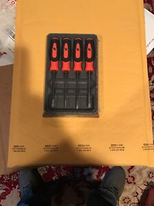 Snap On Mini Screwdriver Set New Sgdx40bo Orange