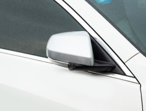 Matte Chrome Abs Rearview Side Mirror Cover Trim 2 For Cadillac Ats l 2014 2017