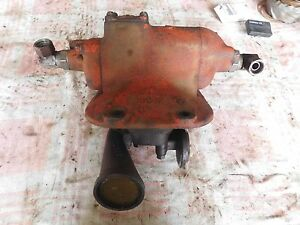 Case Sc Hydraulic Pump Assembly Antique Tractor