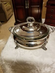 Epca Old English Silverplate By Poole 818 Large Soup Tureen