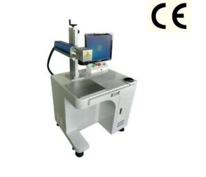 Raycus 30w Table Type Style Fiber Laser Marking Machine Marker Laser Engraver 1