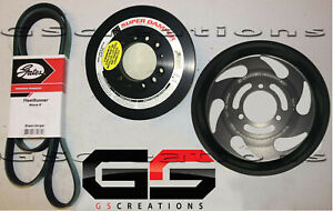 2017 Zl1 Camaro Lt4 Balancer And Lower Supercharger Pulley Kit