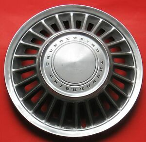 Nice1967 Or 1968 Thunderbird Wheel Cover