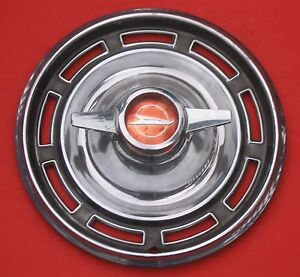 Wheel Cover 1966 Buick Special Hub Cap With Spinner