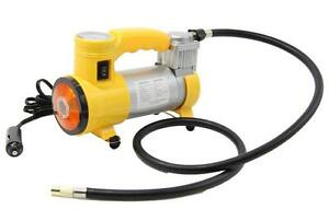 Air Compressor Heavy Duty 12v 140 Psi Pump Tire Inflator Car Tool Inflatable Pum