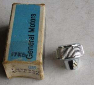 Nos 1966 Oldsmobile Toronado Headlamp Switch Chrome Knob 389411