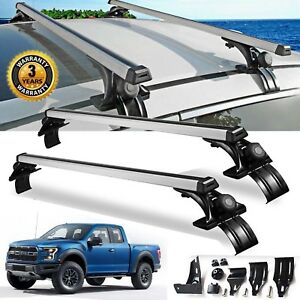 For Ford F150 F350 F450 Pair 48 inch Car Top Luggage Cross Bar Roof Rack Carrier