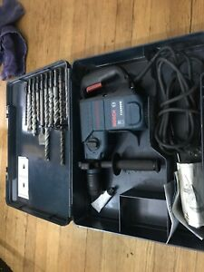Bosch Boschhammer 11236vs Sds plus Corded Rotary Hammer Drill With Bits