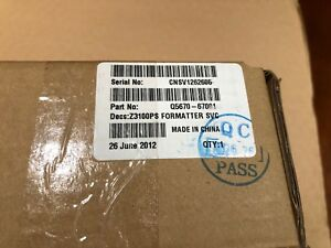 Q5670 67001 Hp Designjet Z3100 Series Formatter With Sata Hdd New