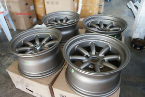 For S30 Ae86 240z Datsun Ta22 Z31 Jdm 15 Staggered Wheels Watanabe Style Rs