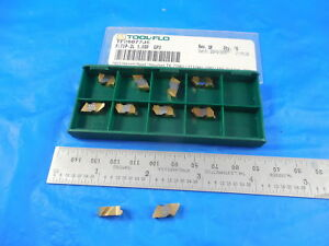 10 Pcs New Tool Flo Tf26077j5 Fltbp 2l 1 59p Gp3 Grade Carbide Top Notch Inserts