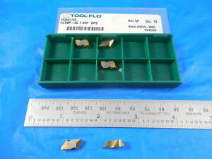 5 Pcs New Tool Flo Tf26077j5 Fltbp 2l 1 59p Gp3 Carbide Top Notch Style Inserts