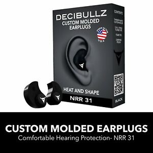 Ear Plugs Hearing Reduction Shooting Noise Protection Moldable Swimming Earplugs