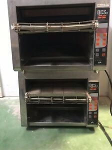 Lot Of 2 Holman Top Convention Toaster Qcs 3 950h