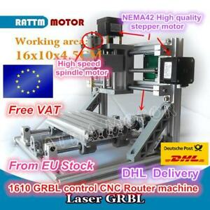 1610 Grbl Control Diy Mini Cnc Machine Working Area 160x100x45mm 3 Axis Pcb Mill