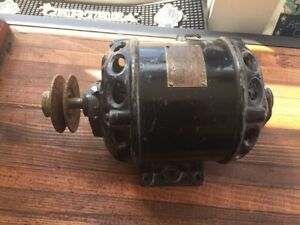Vintage Century Electric Motor 1 4 Hp Heavy Cast Iron 1750 Rpm St Louis Mo Usa