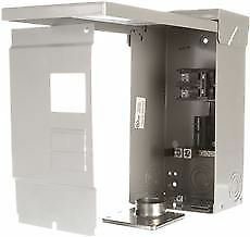 Outdoor Main Breaker Mobile Home Panel 100 Amps 2 4 Circuit