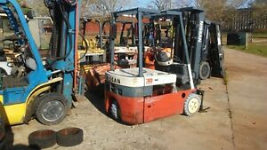 3k Nissan Electric Chassis 4 Ways Plumbed Nice Low Hrs Needs Battery