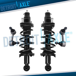 4pc Rear Struts Sway Bar Links Set For 2007 2008 2009 2010 2011 Honda Cr v Crv