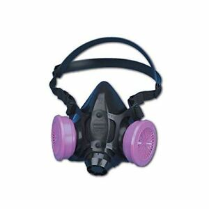 North Safety 770030l 7700 Series Silicone Half Mask Respirator Large 1 Ea Mask