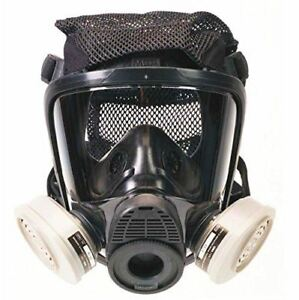 Msa Safety Advantage 4200 Series Full facepiece Silicone Respirator With Polyest