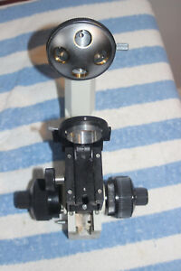 Olympus Ch Microscope Stand With 4 Position Objective Turret
