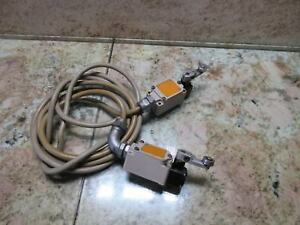 Omron Safety Limit Switch Unit 0630r2 Cnc Tsugami Ma3h Cnc 2 Pcs