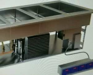 Low Temp Industries lti Hot And Cold Steam Table Drop In 3 Well Chp 3