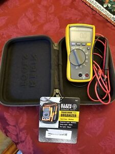 Fluke 116 True Rms Multimeter With Test Leads And Klein Case