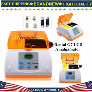 Dental G7 Lcd Amalgamator Fast Speed Amalgam Capsule Mixer Blender High Speed