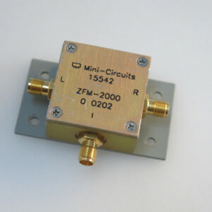 1pc Mini circuits Zfm 2000 100 2000mhz Sma Rf Coaxial Microwave Mixer