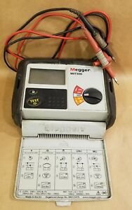Megger Mit300 250 500v Insulation Continuity Ground Fault Electric Motor Tester