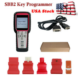 Us Ship Super S Bb2 Auto Pro Grommer Scanner Tool For Immo Odometer Obd Software