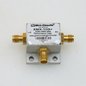 1pc Mini circuits Zmx 10g 3 7 10ghz Sma Rf Coaxial Microwave Mixer