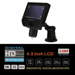 G600 Portable Lcd Display 600x Magnification Hd Electronic Digital Microscope t