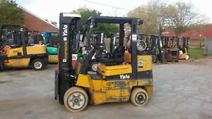 8000lb Capacityyale Forklift Box Car Special Ex Rental Excond Ss 3st Lpgas