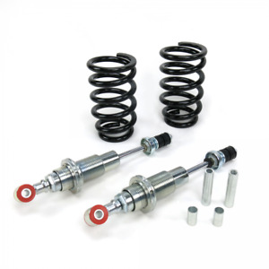 Mustang Ii Adjustable Coil Over Front Shock Kit With Tapered Coils Pair
